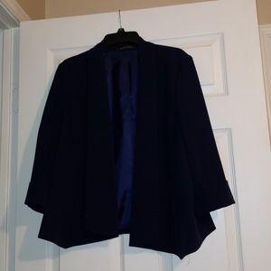 Size 14 blue blazer. KASPER